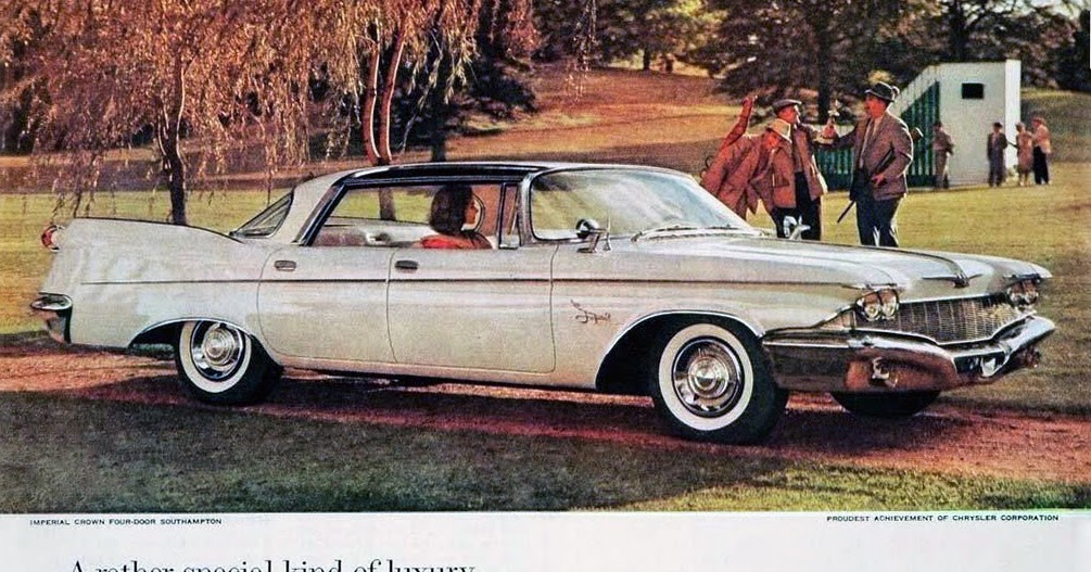 transpress nz 1960 chrysler imperial crown 4 door southampton. Cars Review. Best American Auto & Cars Review