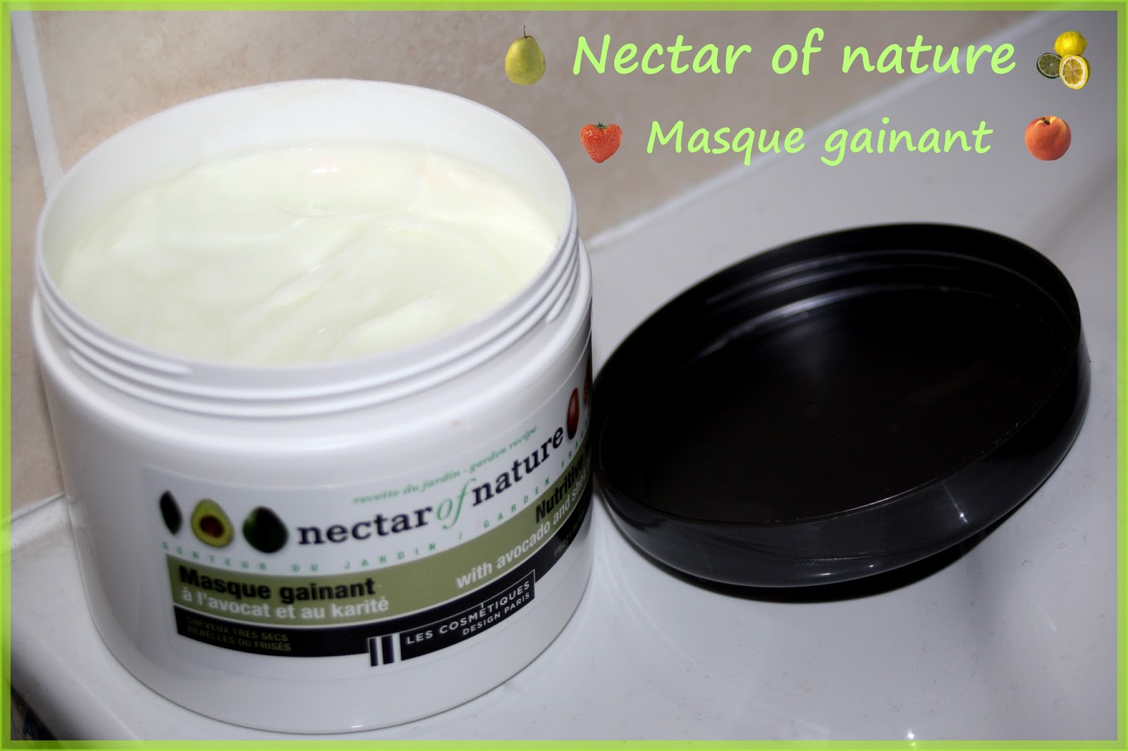 make up by linoa nectar of nature masque gainant l 39 avocat et karit. Black Bedroom Furniture Sets. Home Design Ideas