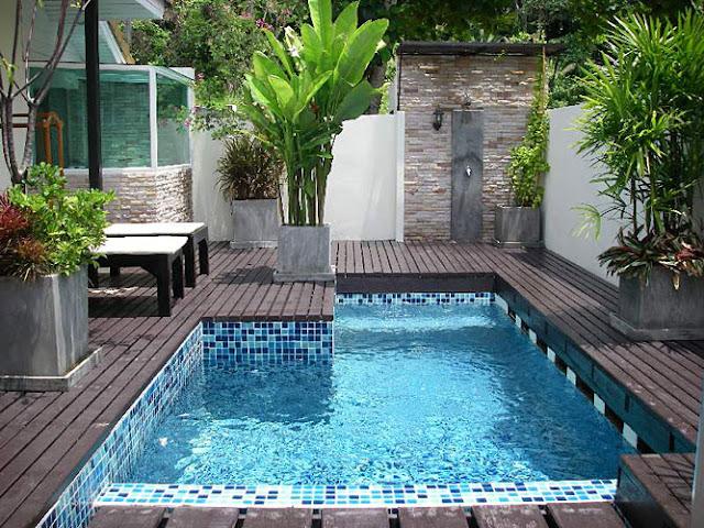 Decoracion para jardines con piscina - Jardines con piscinas ...
