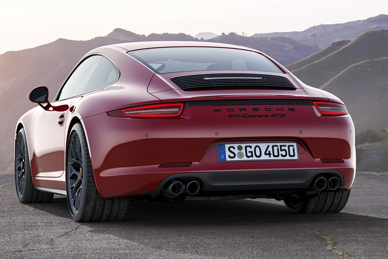 the new 2015 porsche 911 gts models - all four of them [w/video]