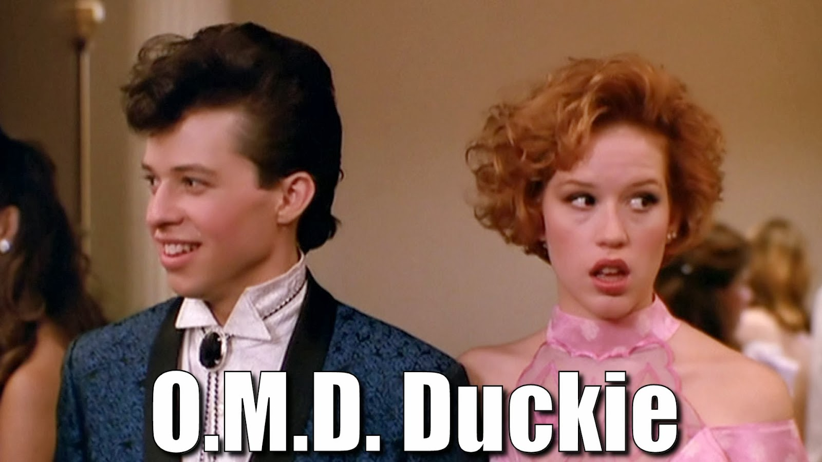 Molly Ringwald and Jon Cryer - Pretty in Pink