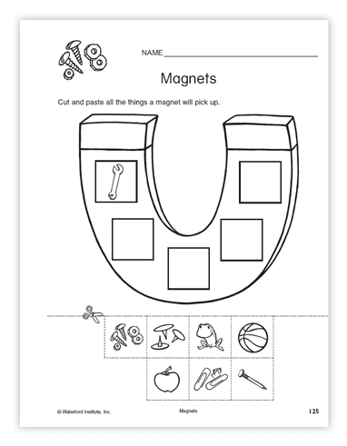 Magnets Workshet 017 - Magnets Workshet