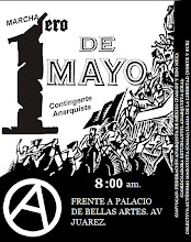 MARCHA 1ERO DE MAYO 2013. CONTINGENTE ANARQUISTA