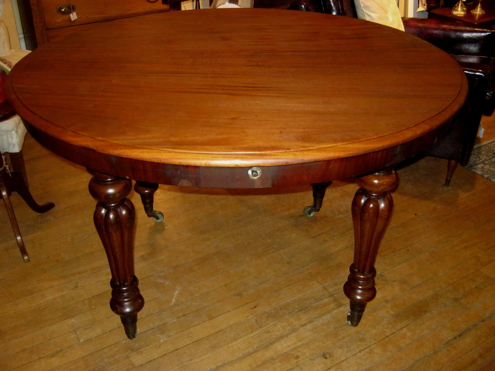 dining table circa 1860 48 diameter 30 high a lovely size for dining