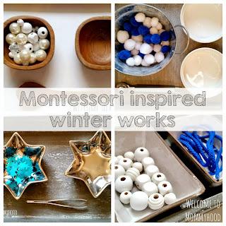 Winter Activities for Kids: Montessori inspired practical life and fine motor activities by Welcome to Mommyhood #montessori, #finemotoractivities, #practicallife, #toddleractivities