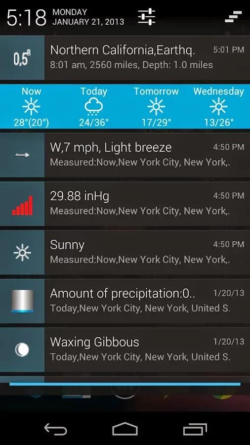 eWeather HD, Radar HD, Alerts v5.4.9 beta