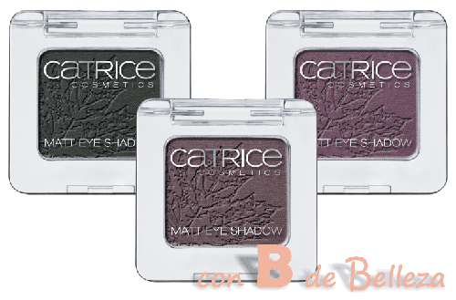 Swatches sombras mate Catrice