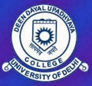 Deen Dayal Upadhyaya College Recruitment 2013 Logo