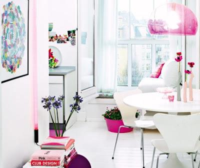 apartamento rosa