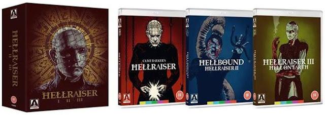 Hellraiser Blu-ray set