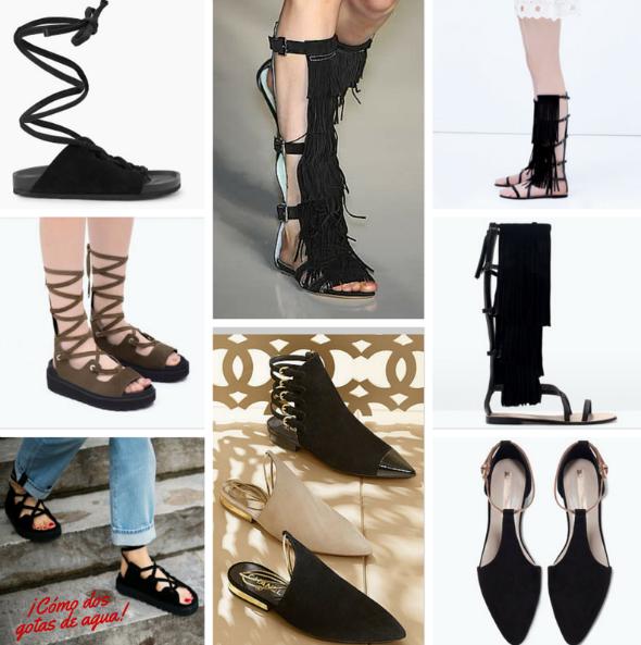 Zapatos otoño invierno 2016 nueva colección mujer  - imagenes de zapatos ala moda 2016