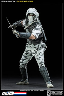 "Sideshow Collectibles 1/6 Scale GI Joe 12"" Storm Shadow v2 Figure"
