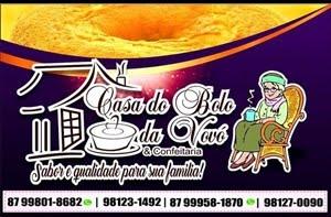 CASA DO BOLO DA VOVÓ