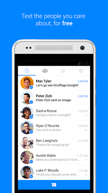 Facebook Messenger Android Apk resimi 6