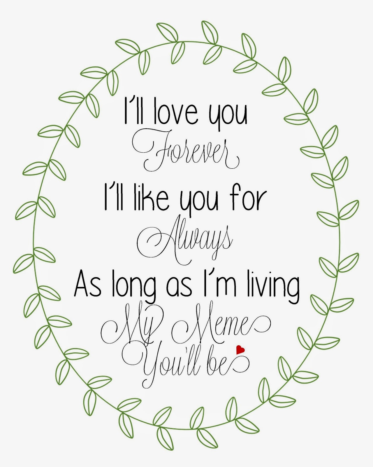 I Ll Love You Forever Quote Endearing I Ll Love U Forever Quotes