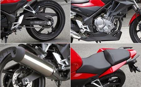 desain Honda CB 250F terbaru 2015