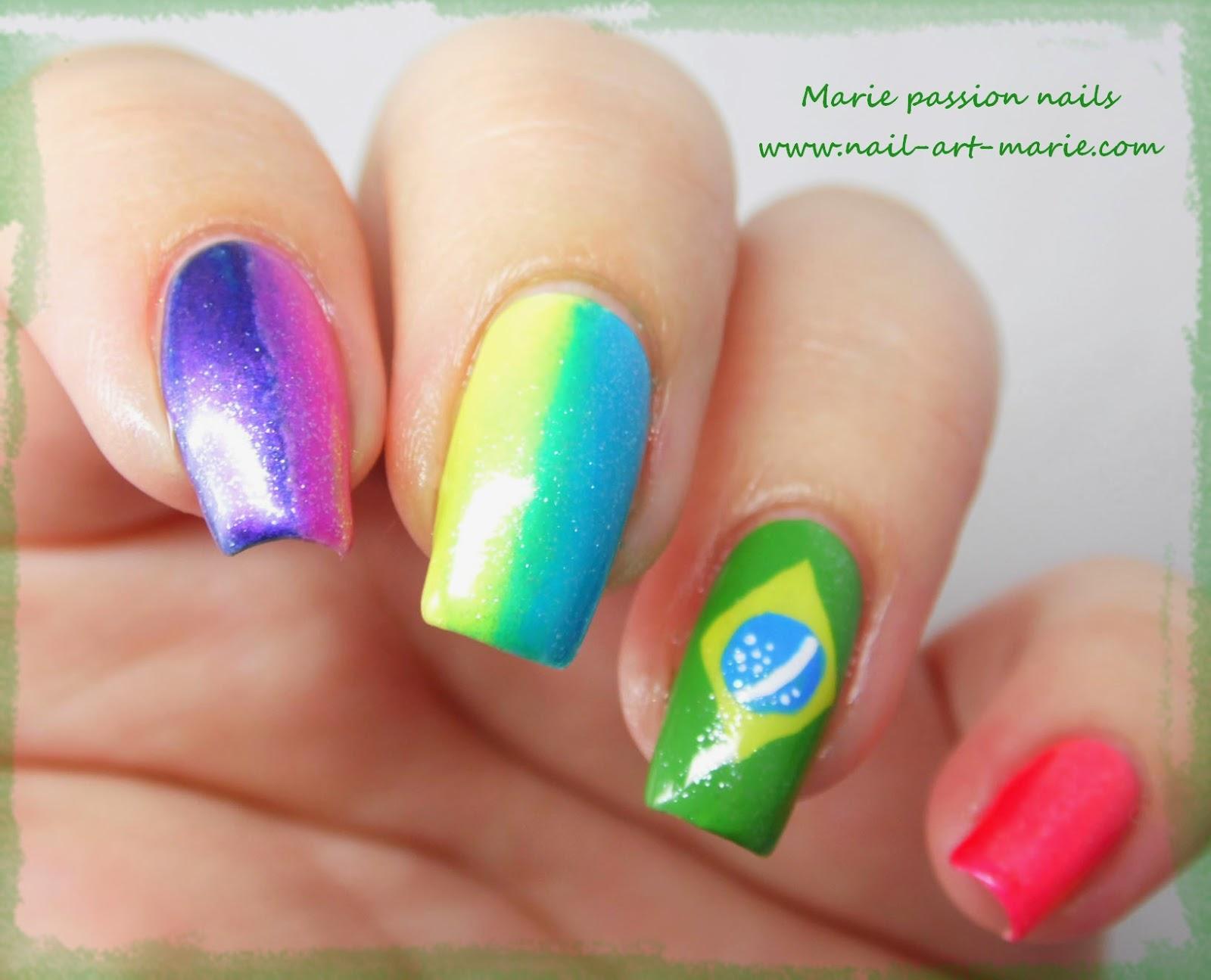 nail art Brésil1