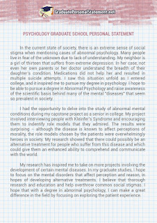 Graduate Carnegie Mellon University Personal Statement   Clinical Mental Health Counseling Psychology