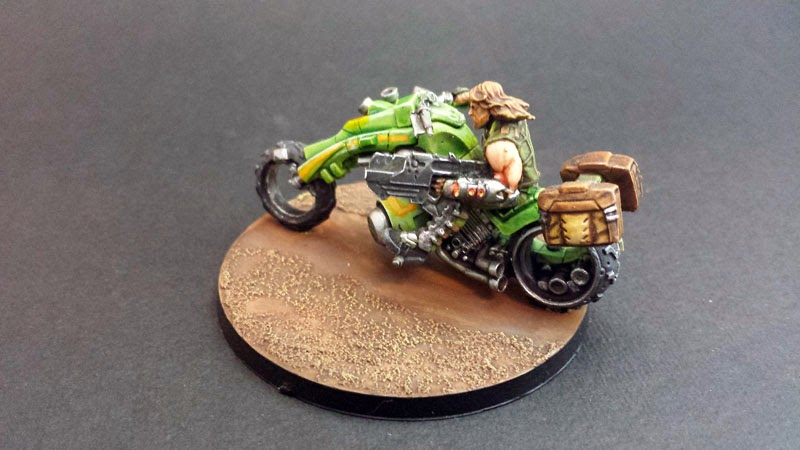 KUM MOTORIZED TROOPS - HAQQISLAM - INFINITY THE GAME 7
