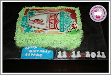 Liverpool Fan Cake edible image