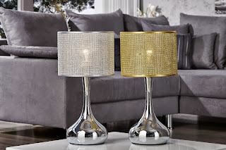 lampy na stôl, dizajnove svietidla na stôl, luxusne lampy, zlata lampa, strieborne lampy