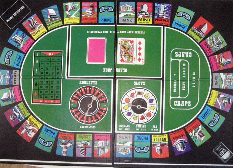 Casino game boards school for casino dealers