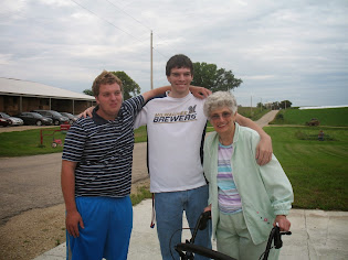 Grandma with the Boys