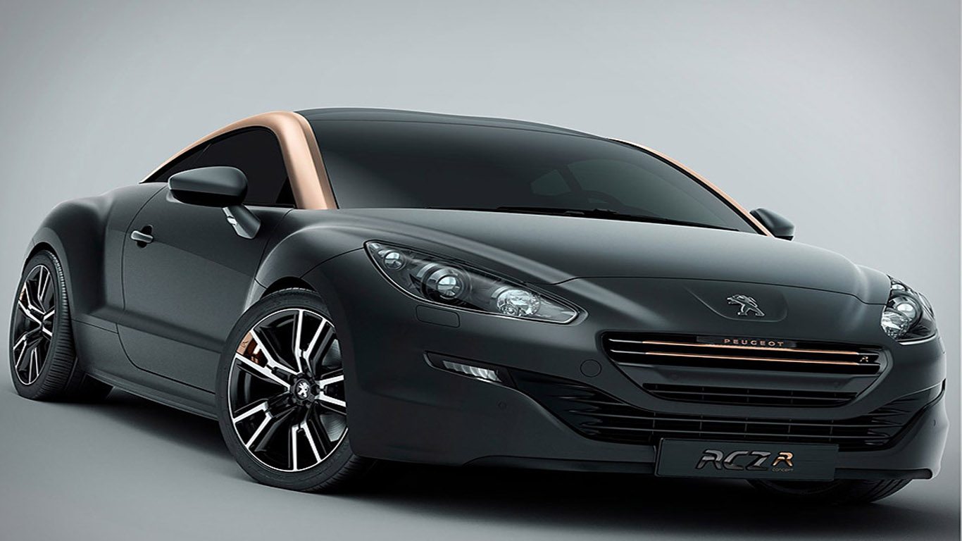 peugeot rcz r concept paris motor show 2012 dream. Black Bedroom Furniture Sets. Home Design Ideas