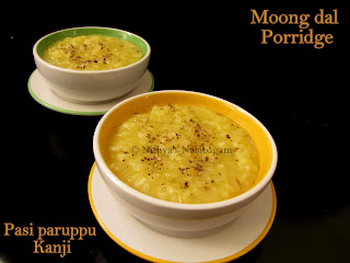 Moong dal Porridge