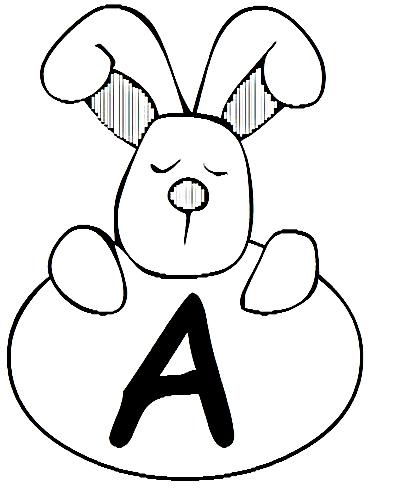 Desenhos Para Colori Letras Do Alfabeto Letra A desenhar
