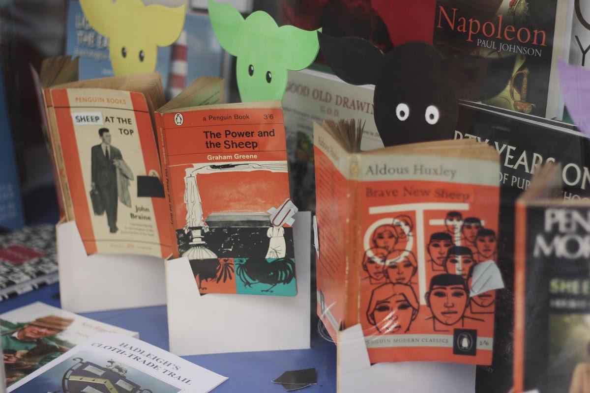 hadleigh year of sheep bookshop
