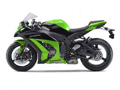 2012 Kawasaki Ninja ZX 10R ABS Green Color