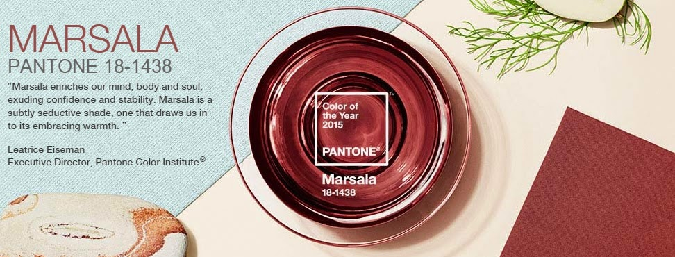 Color of the Year 2015 - Marsala.