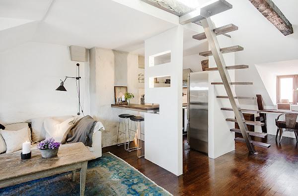 Salon con cocina office decorar tu casa es - Decorar office cocina ...