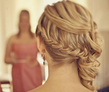 Side Braid Wedding Hair