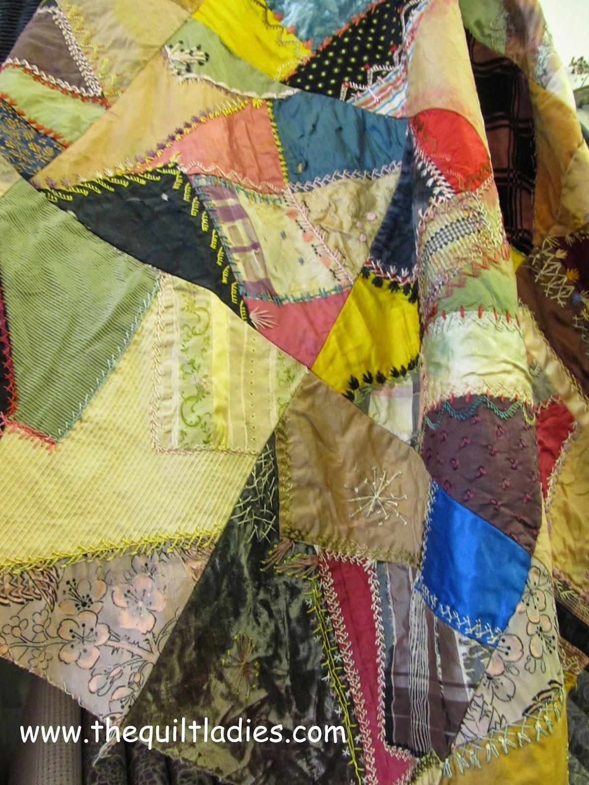 crazy Quilt from Missouri Star Quilt Company, Hamilton, MO