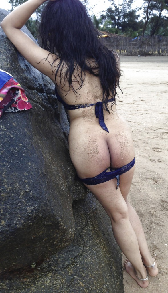 Madhavi Naked On Goa Beach