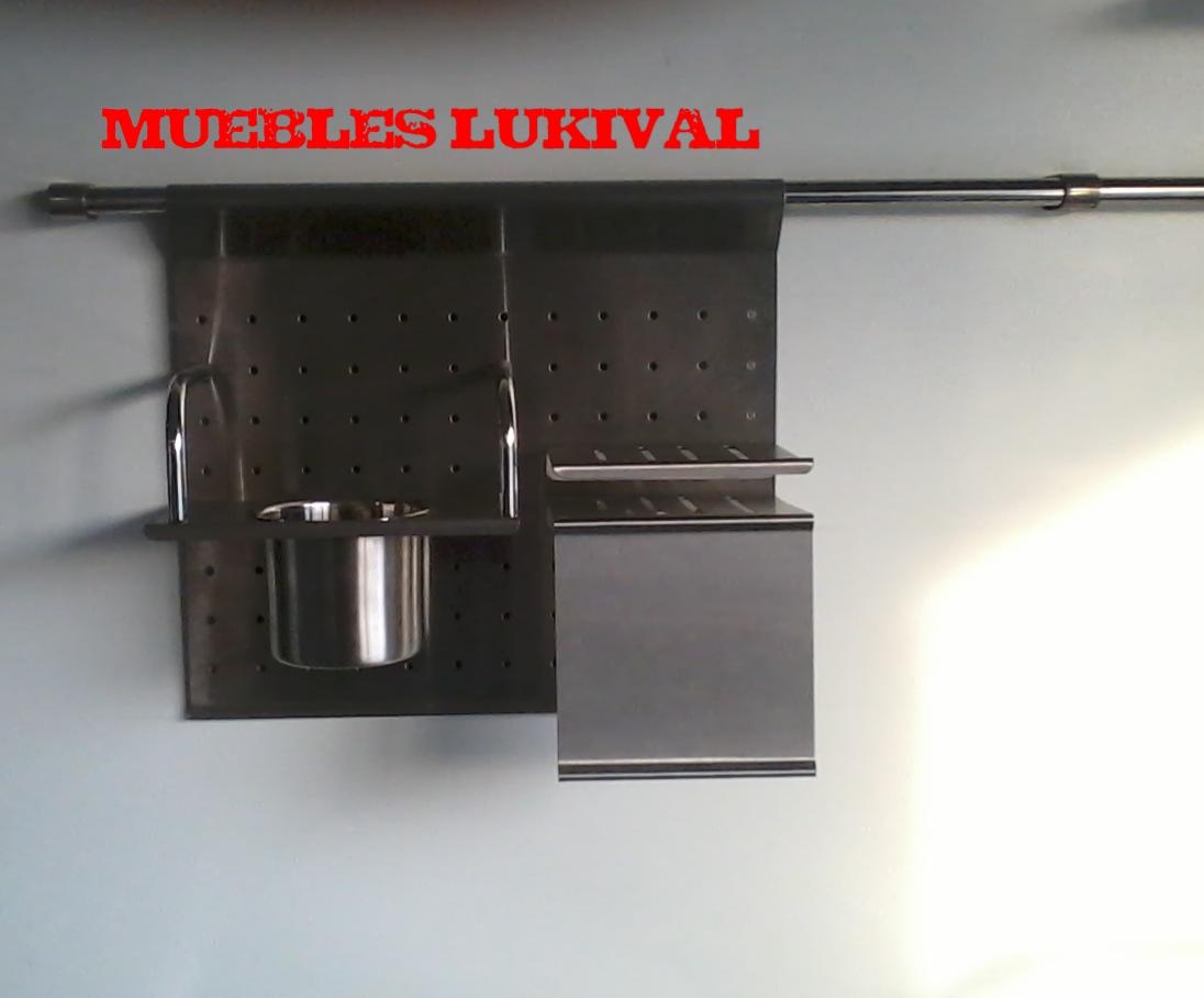 Muebles lukival muebles de cocina con aluminio for Muebles de cocina de aluminio