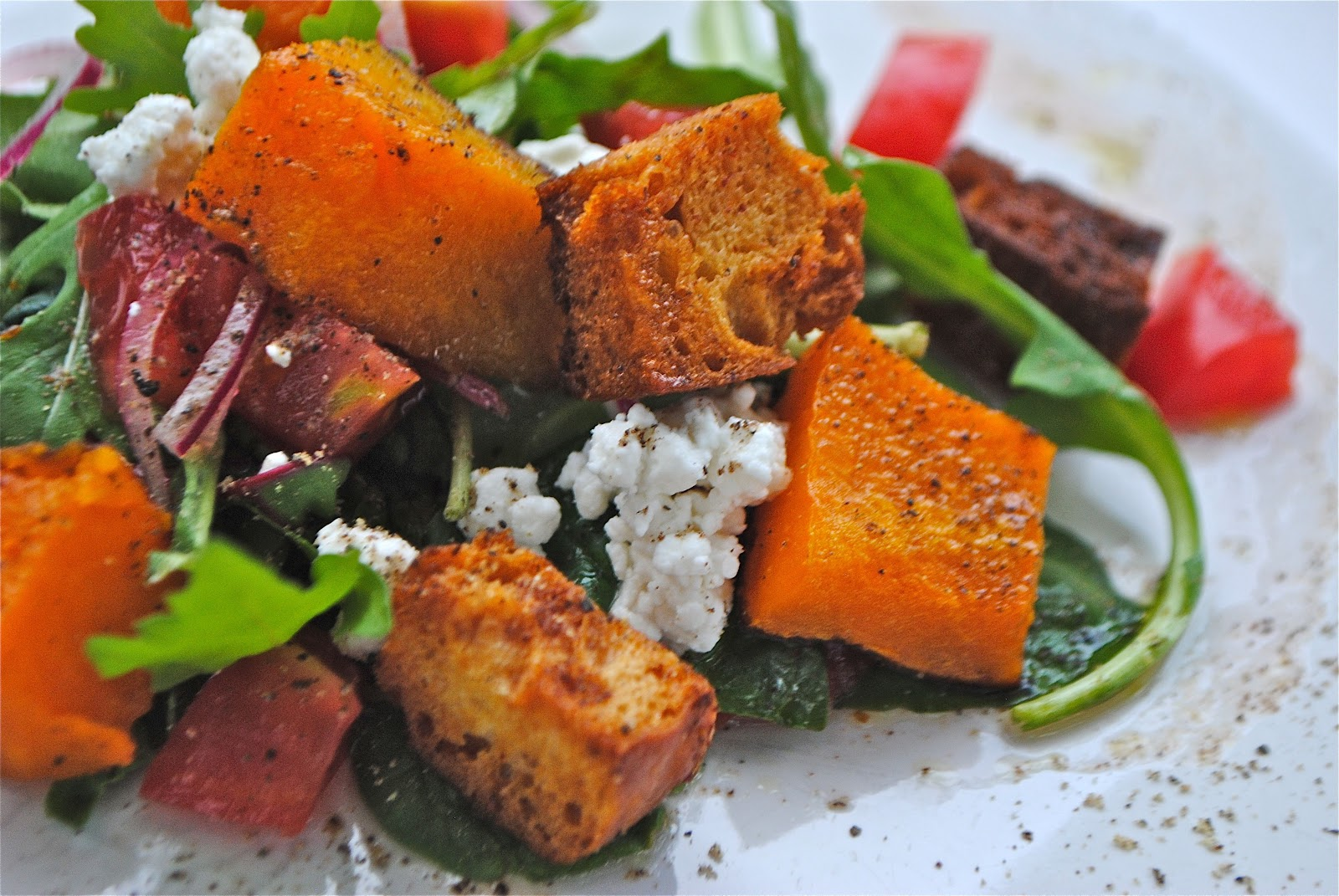 how to make croutons from sliced bread in oven