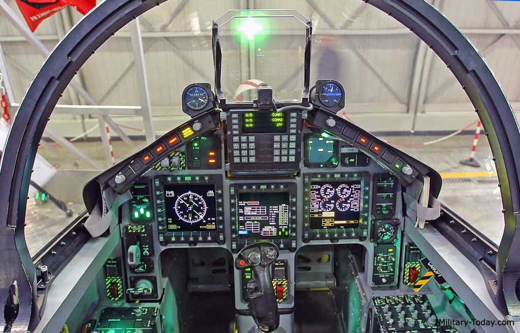 Simulator Pesawat latih Canggih Aermacchi T-346