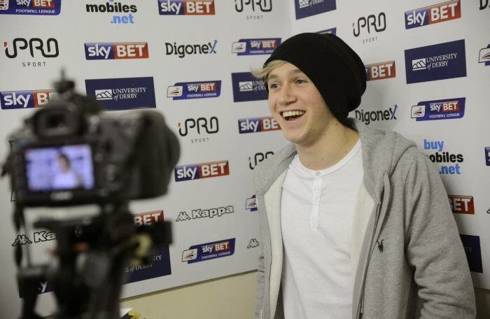one direction, 1d, niall horan, 28.01.14, derby