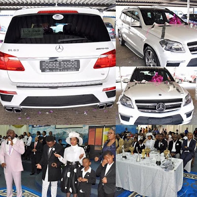 Outcry in South Africa as Sfiso Ncwane gives Nigerian pastor R1.9m(N29m) car!