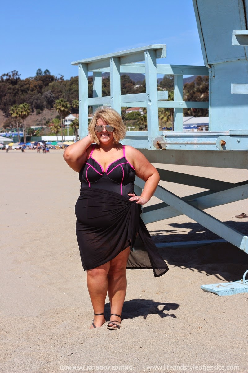 plus size swimsuit for larger sizes, body inspiration, plus size blogger style
