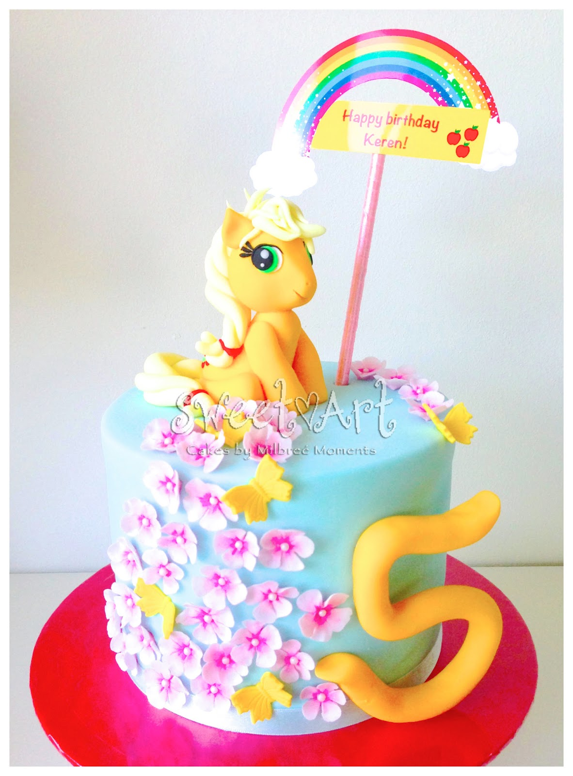 Sweet Art Cakes By Milbree Moments Keren S My Little Pony