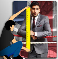 What is Amir Khan Height?