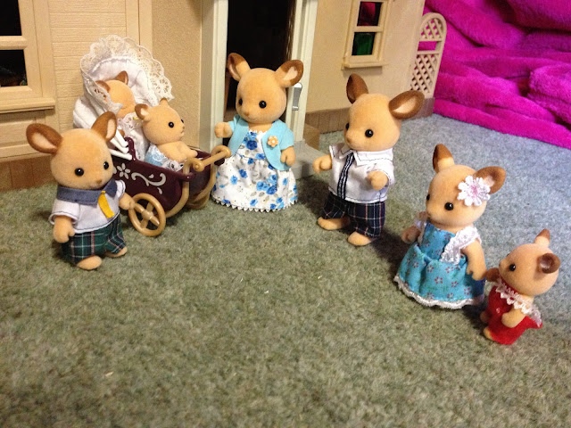 Sylvanian Families Buckley Red Deer Family
