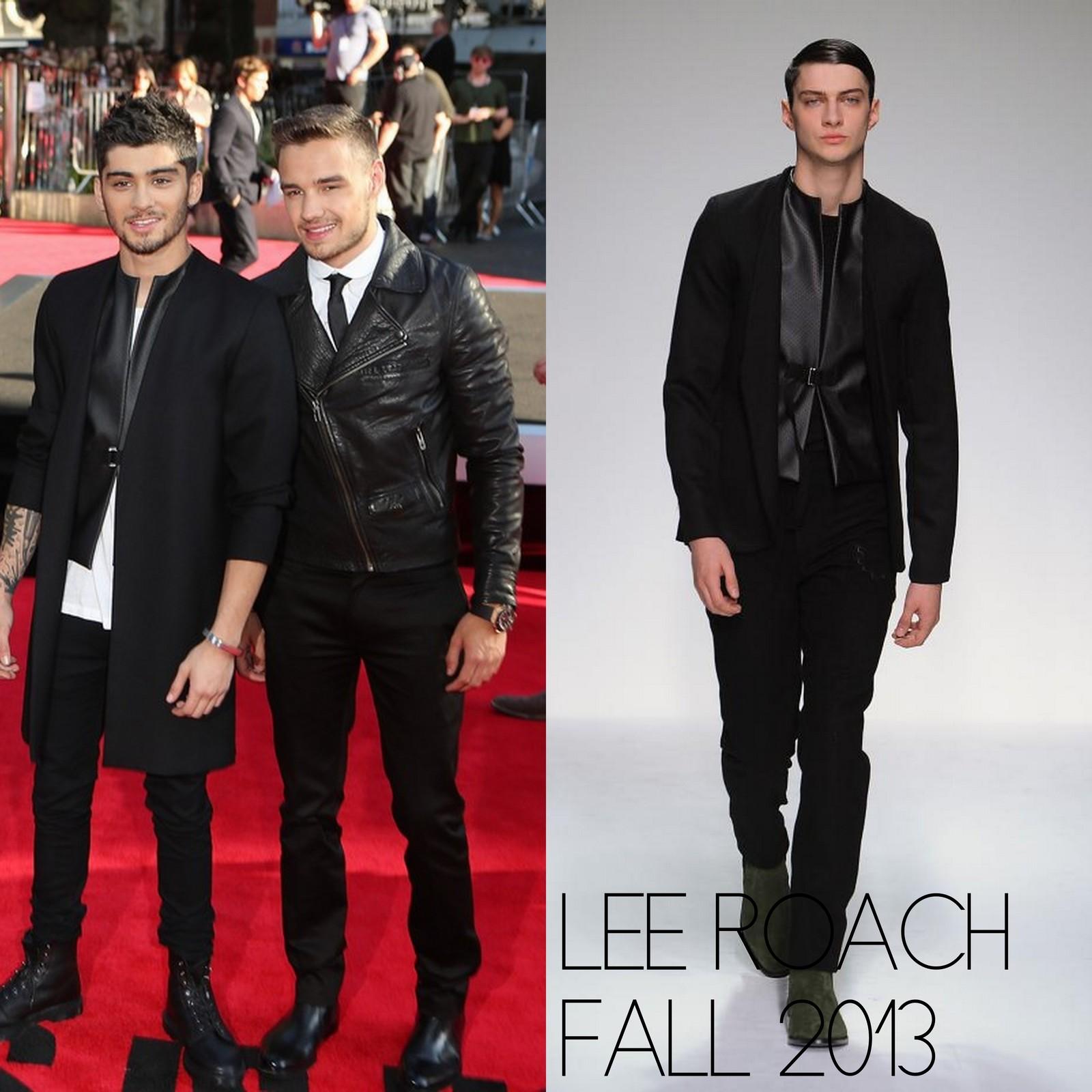 Zayn Malik En Lee Roach This Is Us London Premiere Male Fashion Trends
