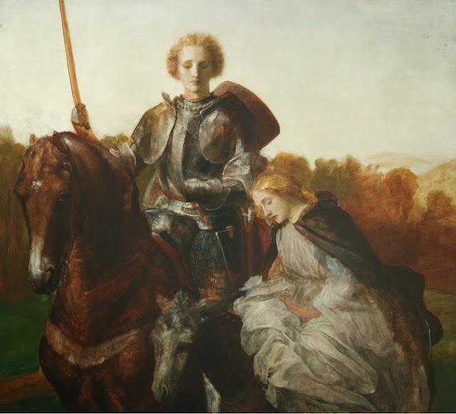 Red Cross Knight, Una, romanticism painting