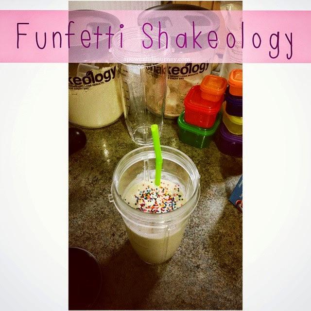 A Power Full Journey Funfetti Shakeology