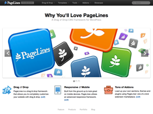 pagelines free wordpress theme